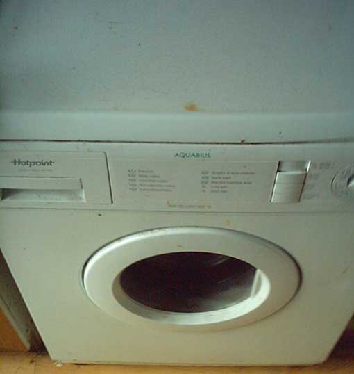 washing machine stopped