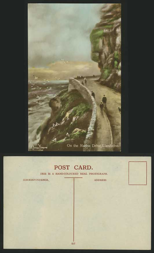 Elmer Keene Prints http://www.stamps-auction.com/elmer-keene-artist-old-postcard-llandudno-marine-drive-for-sale-51278