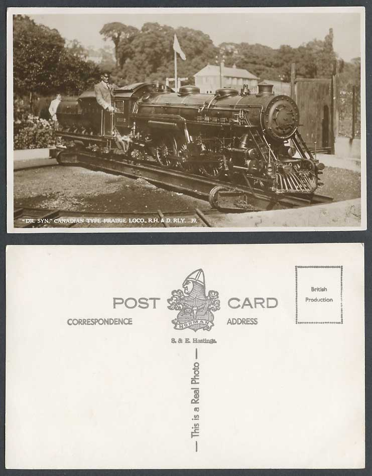 Canadian rail vintage postcards